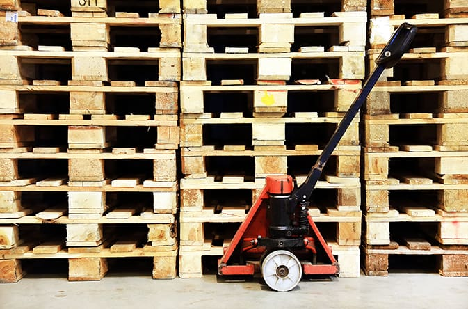 pallet safety treatment